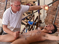 Handsome Izan Drained Of Jizz - Izan Loren And Sebastian Kane