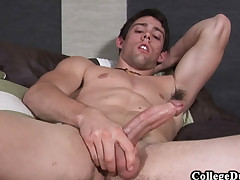 College Dudes - Brandon In top form